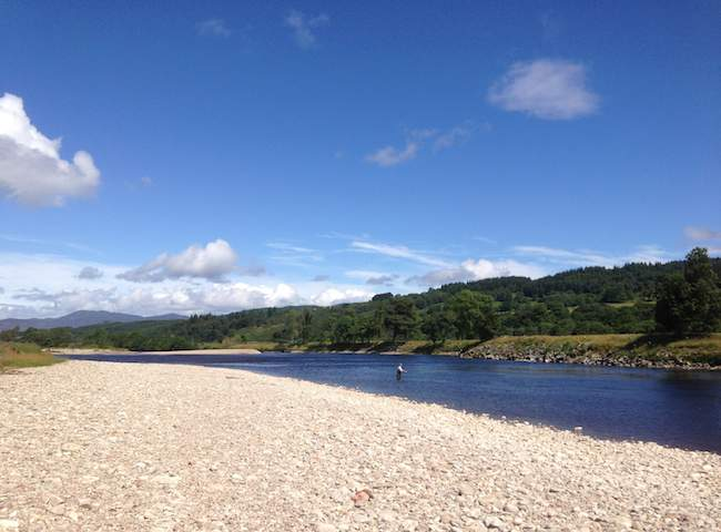 Fishing For Salmon On The Scottish Rivers